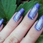 Prom Natural Purple Heart Nail Art Designs 2014 Easy Prom Nail Designs ... , 6 Purple Prom Nail Designs In Nail Category