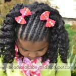 ... Styles for Little Girls: Cornrows & Twist Out - Flat Twists & Twist , 6 Little Girls Twist Hairstyles In Hair Style Category