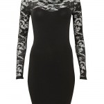 NewLook Black Lace Long Sleeve Dress AED 105 | Crownless Princess , 6 Black Lace Dress With Long Sleeves In Fashion Category