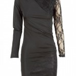You are here: Home > Black Lace Insert Long Sleeve Bodycon Dress , 6 Black Lace Dress With Long Sleeves In Fashion Category