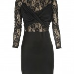 You are here: Home > Black Lace Twist Detail Long Sleeve Dress , 6 Black Lace Dress With Long Sleeves In Fashion Category