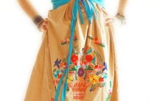 Fashion , 7 Vintage Style Dresses For Kids : Mexican vintage style for dresses or shirts by AidaCoronado on Wanelo