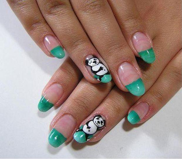 Nail , 5 Panda Nail Art Designs : ... Will Instantly Fall In Love Check Out Stylish Panda Nail Art Designs