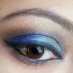 peacock blue colors eye makeup tutorial 1 , 6 Peacock Eye Makeup Tutorial In Make Up Category