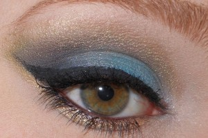 1600x1494px 7 Peacock Eye Makeup Tutorial Picture in Make Up