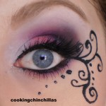 ... : Pink Purple Elegant Gothic Makeup With Eyeliner Art , 6 Goth Eye Makeup In Make Up Category