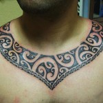 25 Adorable Polynesian Tribal Tattoos | CreativeFan , 7 Necklace Tattoos For Women In tattoo Category