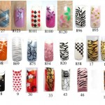 Pre Designed Nail Tips , 6 Pre Designed Nail Tips In Nail Category