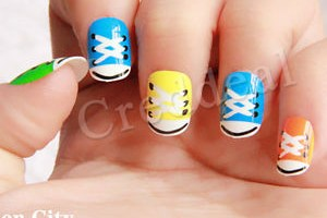 300x300px 8 Pre Designed Nail Tips Picture in Nail