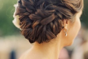 Hair Style , 6 Buns With Braiding Hair : pretty barid bun hairstyle