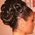Homecoming Hairstyles For Tattoo Pictures to Pin on Pinterest , 6  Updo Prom Hairstyles For Black Girls In Hair Style Category