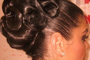Hair Style , 6  Updo Prom Hairstyles For Black Girls : Homecoming Hairstyles For Tattoo Pictures to Pin on Pinterest