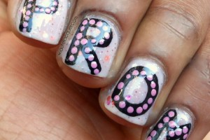 550x512px 6 Blue Prom Nail Designs Picture in Nail