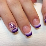 purple airbrush nail design , 5 Airbrush Nail Designs In Nail Category