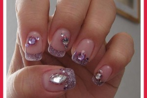 Nail , 6 Purple Prom Nail Designs : purple nail designs prom