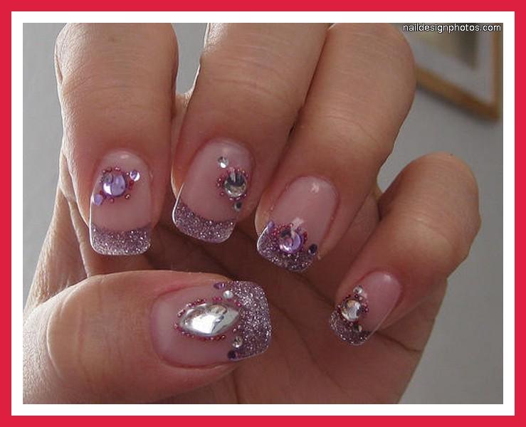 Purple Nail Designs Prom 6 Purple Prom Nail Designs Woman