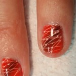 red airbrush nail design , 5 Airbrush Nail Designs In Nail Category