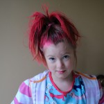 red crazy hairstyle for crazy hair day , 7 Crazy Hair Day Styles For School In Hair Style Category