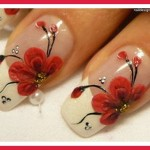 red nail designs for prom pictures photos video pictures 17 , 6 Red Prom Nail Designs In Nail Category