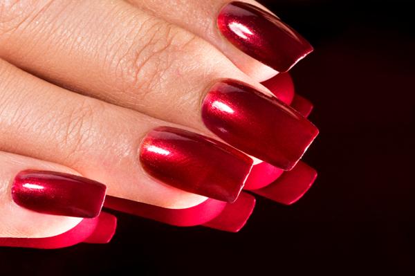 Nail , 6 Red Nail Polish Ideas : Red Nail Polish For Winter
