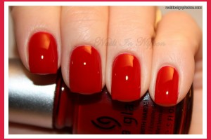 Nail , 6 Red Prom Nail Designs : red nails for prom night