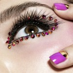 Rhinestone Eyes Makeup For Hazel Eyes Decorate Your Eyes : Fashion ... , 6 Rhinestone Eye Makeup In Make Up Category