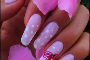 404x537px 5 Romantic Nail Art Design Picture in Nail