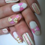 Must-Try Flirty Nail Art Ideas , 6 Romantic Nail Art Design In Nail Category