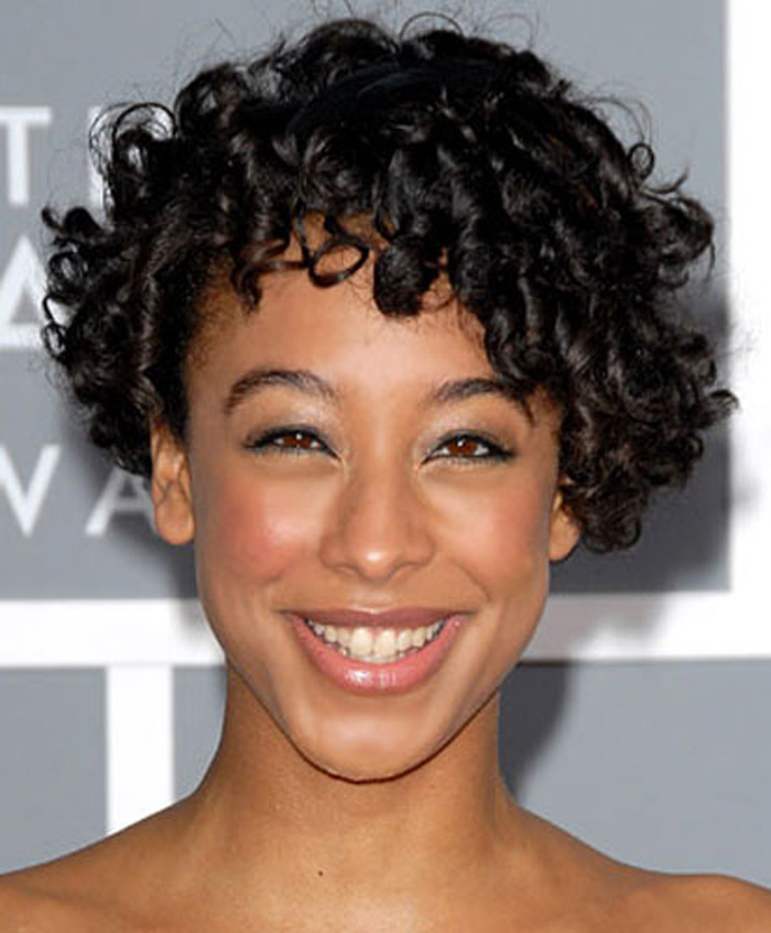 Hair Style , 6 Short Naturally Curly Hairstyles Black Women : Short Naturally Curly Hairstyles Black Women Pic 2