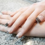 simple Lace nail art , 10 Lace Nail Art Design In Nail Category