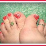 simple toe nail designs for beginners pictures photos video pictures 1 , 6 Easy Toe Nail Designs In Fashion Category