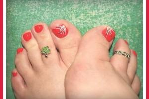 753x600px 6 Easy Toe Nail Designs Picture in Fashion