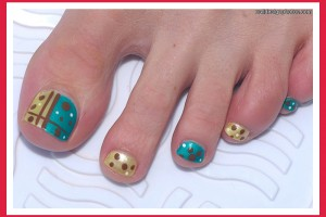 Nail , 6 Easy Toe Nail Designs : simple toe nail designs uk
