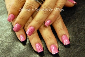 630x422px 5 Breast Cancer Nail Designs Picture in Nail