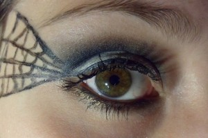 Make Up , 5 Spider Web Eye Makeup : Halloween Makeup : Spider Web ~ Luhivy\'s favorite things