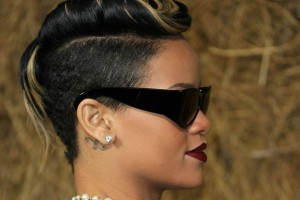 Hair Style , 7 Black Girls Mohawk Hairstyles : ... rolled neatly on top of the head, in this chic semi-mohawk hairstyle