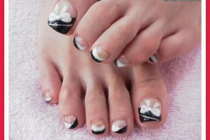 Fashion , 6 Easy Toe Nail Designs : easy toe nail designs 2012