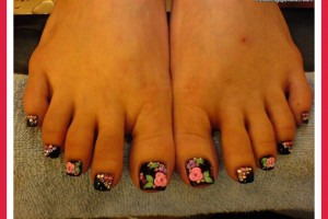 Fashion , 6 Easy Toe Nail Designs : easy toenail designs for beginners
