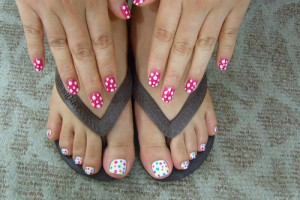 500x375px 6 Nail Art Designs For Toes Picture in Nail