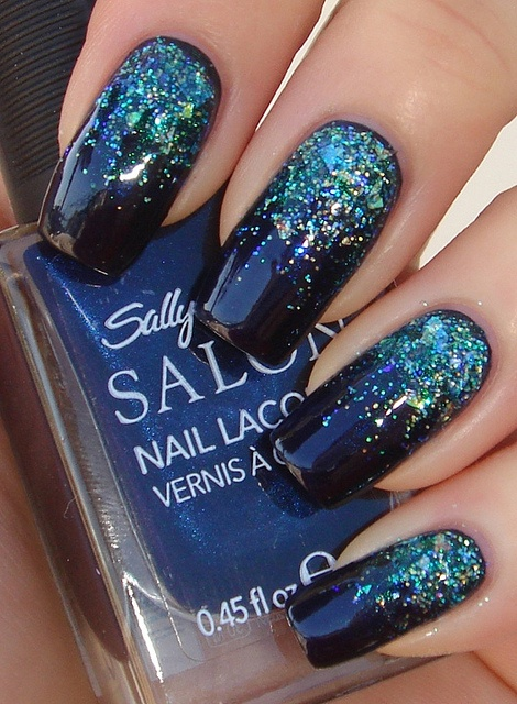 Prom Nails Blue Best Nail Designs 2018