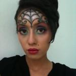 Heidi\'s Make-Up Magic: Spider Web , 7 Spider Web Eye Makeup In Make Up Category
