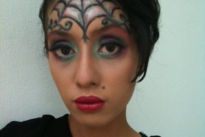 1200x1600px 7 Spider Web Eye Makeup Picture in Make Up