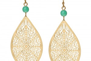 Jewelry , 6 Gold Drop Earrings : turquoise gold drop earrings 22 00 gold drop earrings are wire wrapped ...