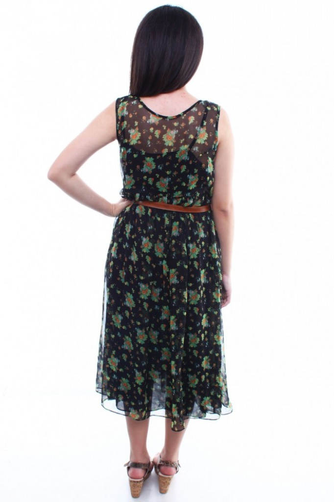 6 Vintage Maxi Dress in Fashion