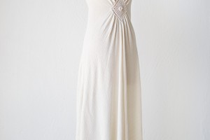 Fashion , 8 Vintage Maxi Dress : vintage pearl white boho maxi dress