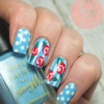 vintage roses nail design , 8 Vintage Style Nail Designs In Nail Category