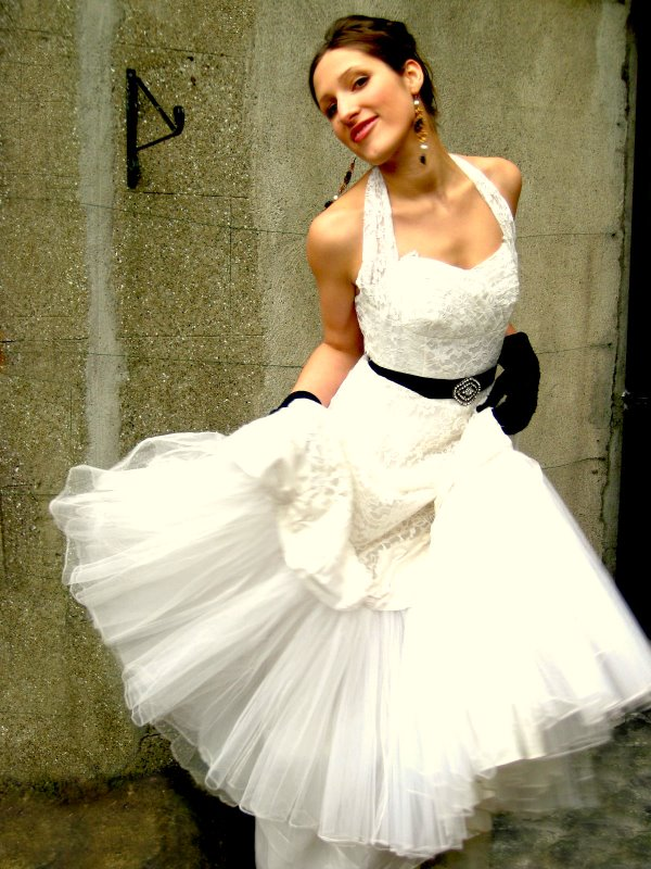 7 Vintage Short Wedding Dress in Wedding