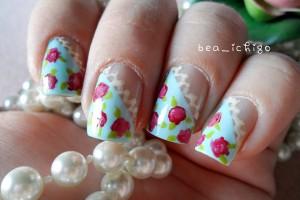 Nail , 8 Vintage Style Nail Designs : vintage toska nail design