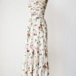 ... maxi dress [Peony Petals Dress] | VINTAGE, Vintage , 6 Vintage Maxi Dress In Fashion Category