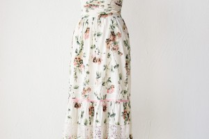 Fashion , 6 Vintage Maxi Dress : ... maxi dress [Peony Petals Dress] | VINTAGE, Vintage